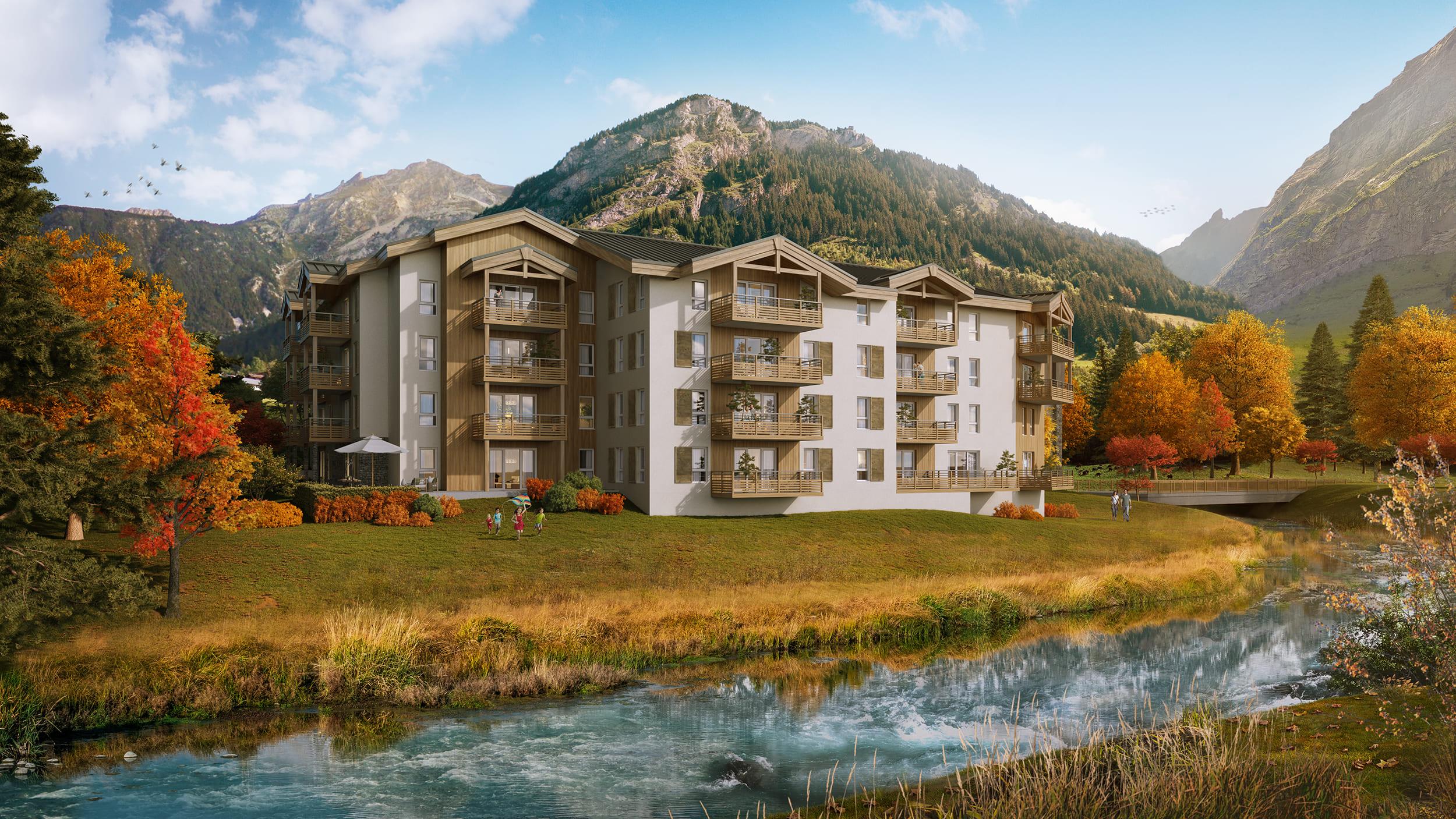 1 room apartment 25 m² resort center
