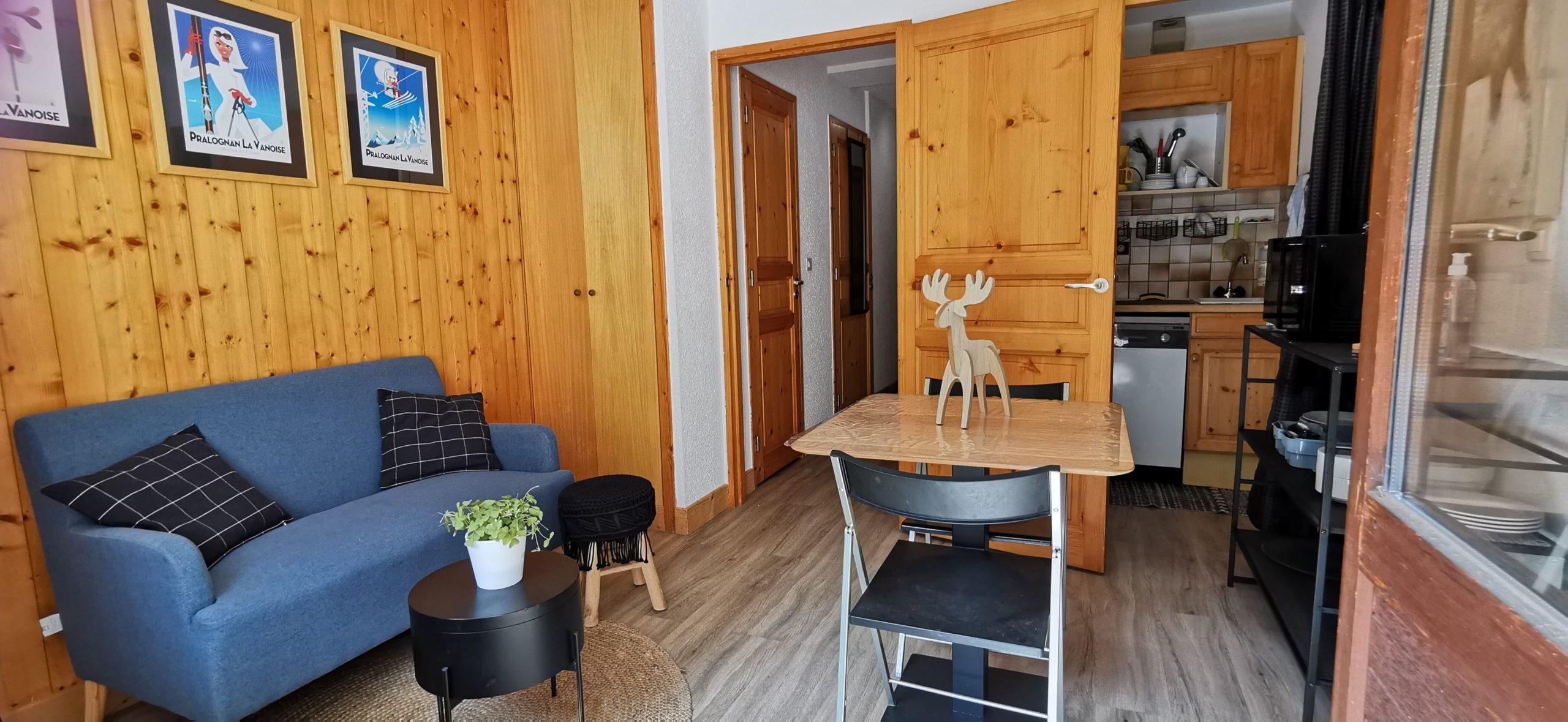 Studio 23.60 m² centre