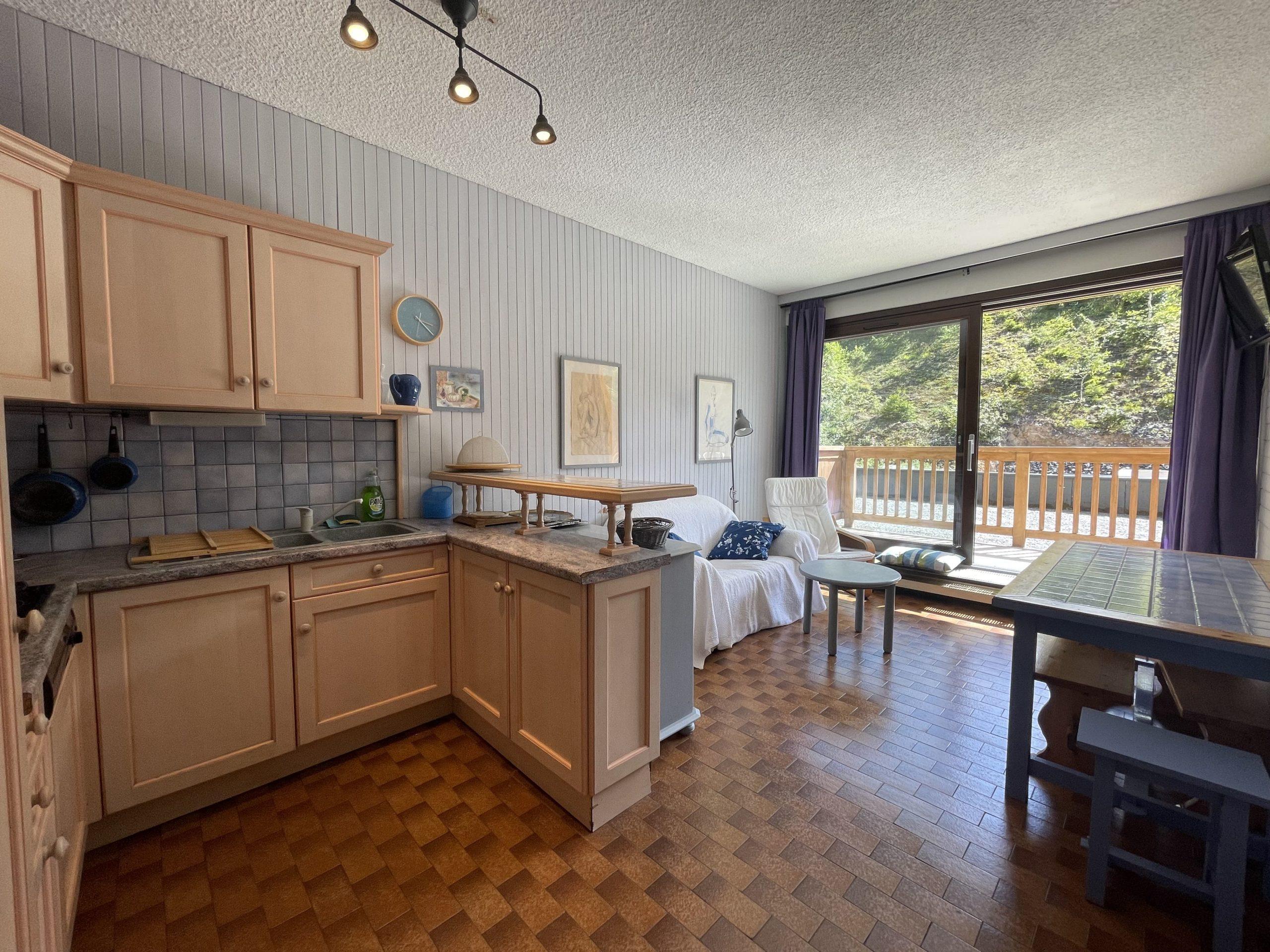 Appartement ski au pied 3 pièces 37 m²